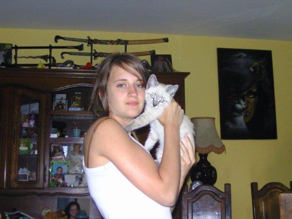 mon coeur et son chat