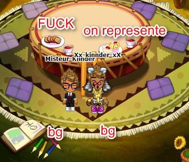 moi et mon bg de frere XD