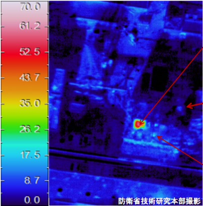 Fukushima  Thermographies