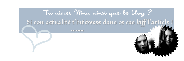 Ta source francophone sur la belle Nina Dobrev !  ♥