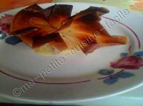 Aumonières au camembert et pommes
