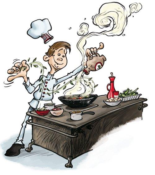 CCF cuisine (CCF : Controle Continue de Formation)