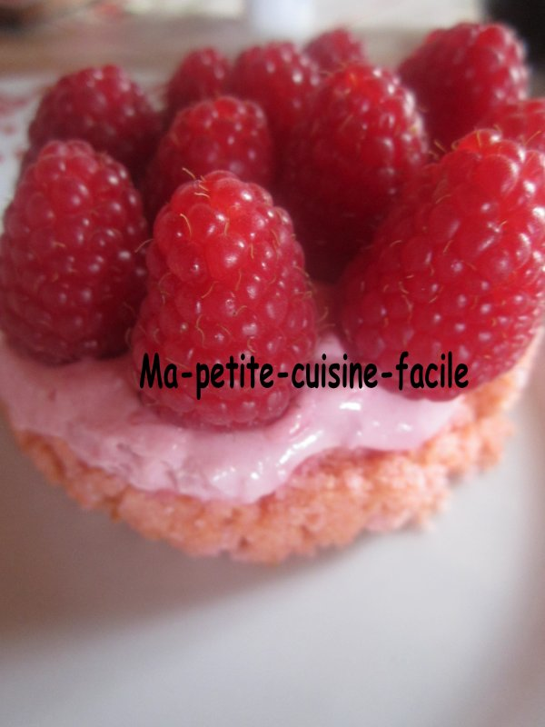 Cheesecake à la framboises