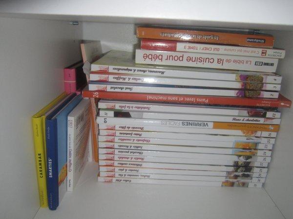 Mes livres de recettes