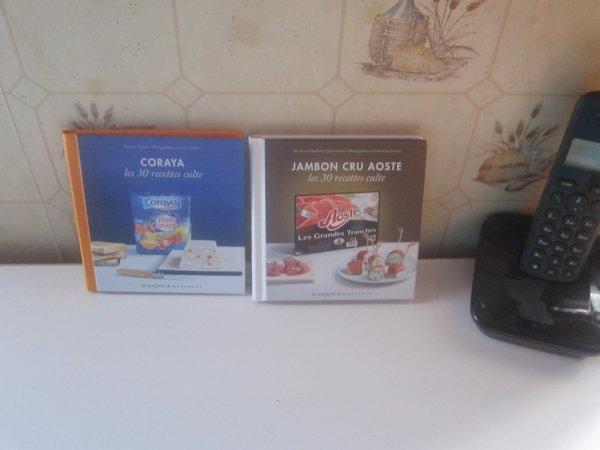2 nouveaux livres de recette