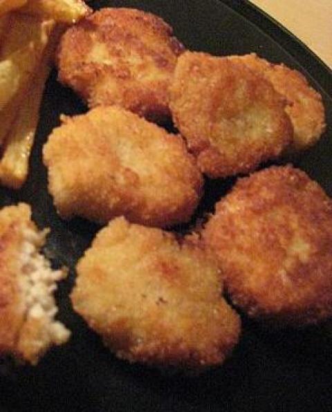 Nuggets de poulet au fromage