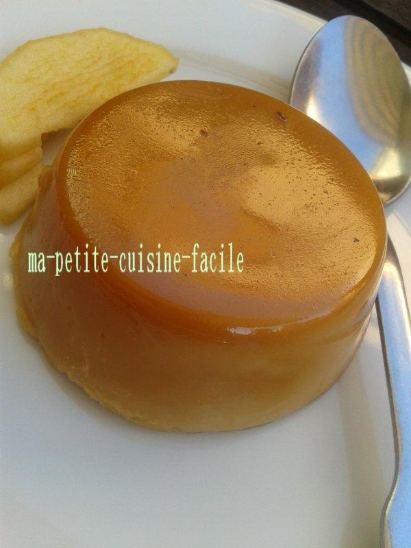 Panna cotta au caramel au beurre salée
