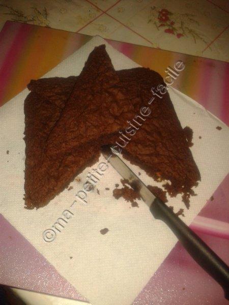 Brownie au chocolat et noisette