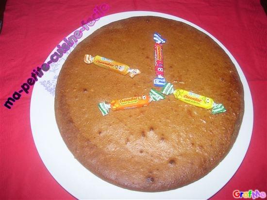 Gâteau au carambar caramel