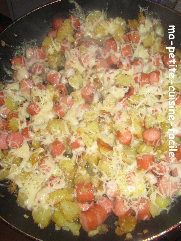 poêlée campagnarde aux pommes de terre