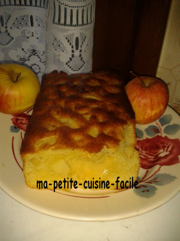 Cake au pommes