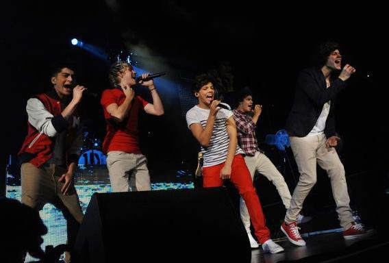 One Direction : US concert 2012