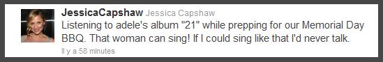 Jessica Capshaw's Tweets