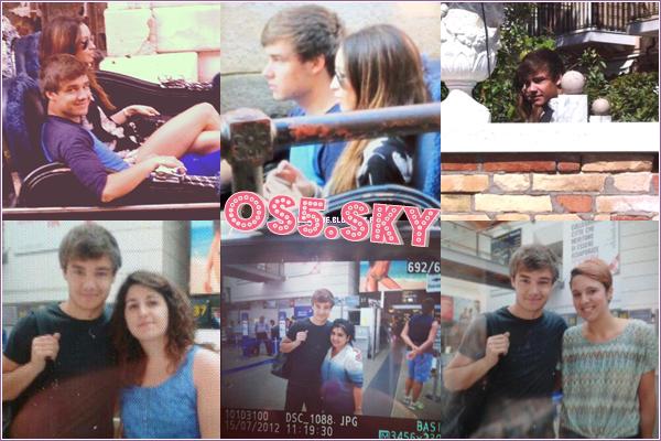 15/07/2012:Liam et Danielle ont été vu dans Venise en Italie.Liam a posé avec des fans quelles heures plus tôt.