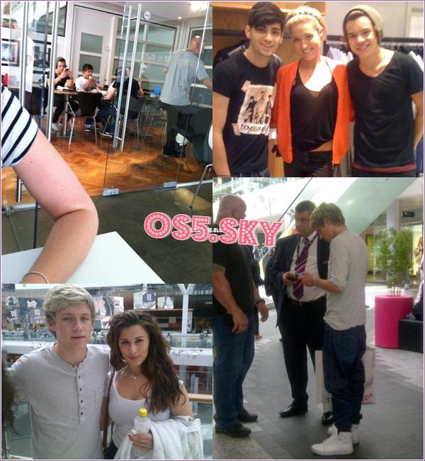 17/07/2012:Liam, Zayn, Harry et Niall ont été aperçu dans Londres, avant de se rendre dans des studios pour enregistrer leur second album.