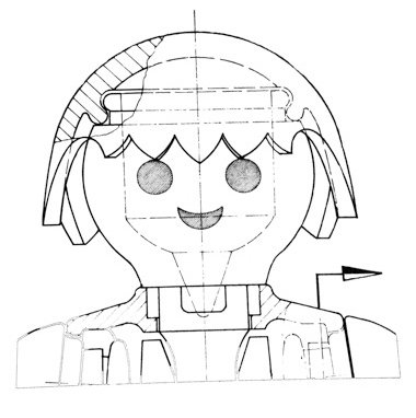 dessin de playmobil