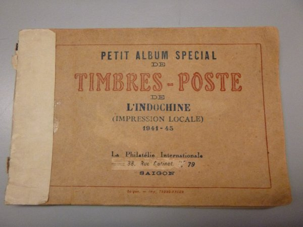 Album de timbre Indochine (1941-45)