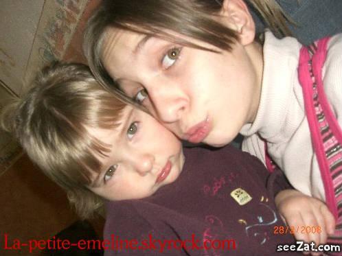 ma grande soeur,ma marraine et moi
