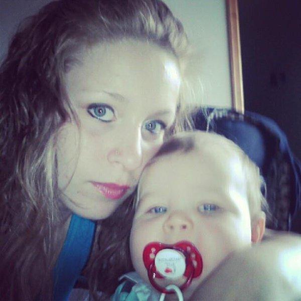 moi et mon Bébé <3