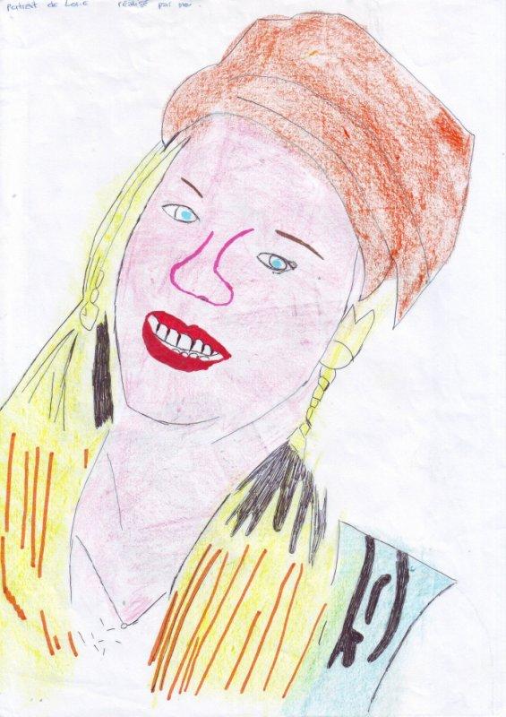 portrait de Lorie