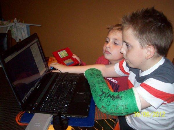 (l) moi et mon frère remy (l)