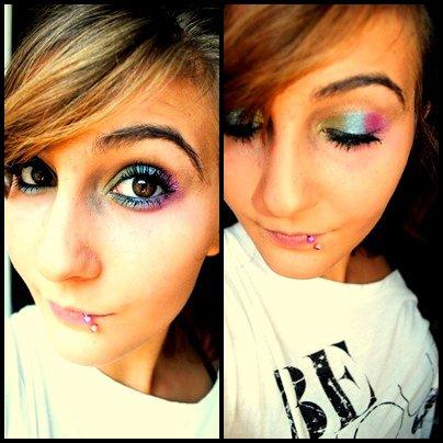 La maquillage s'est tout un art.
