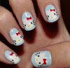 Nail Art Hello Kitty !