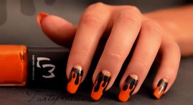 Nail Art Halloween.