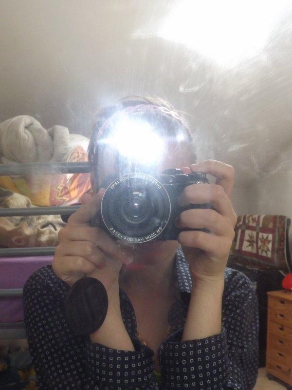 Je suis en couple avec mon appareil photo depuis bientot un an ♥.