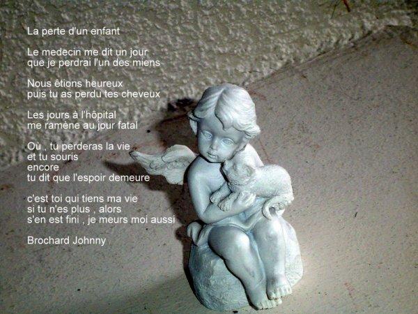 la perte d'un enfant