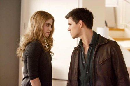 Jacob (Taylor Lautner) et Rosalie (Nikki Reed)