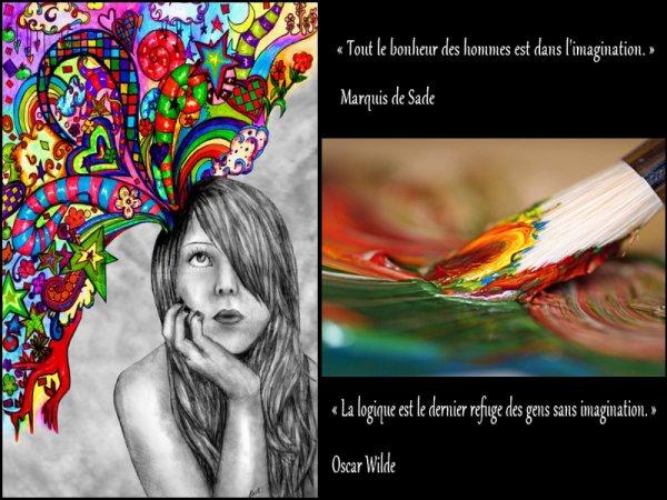 « L'ordre est le plaisir de la raison : mais le désordre est le délice de l'imagination. »  Paul Claudel.