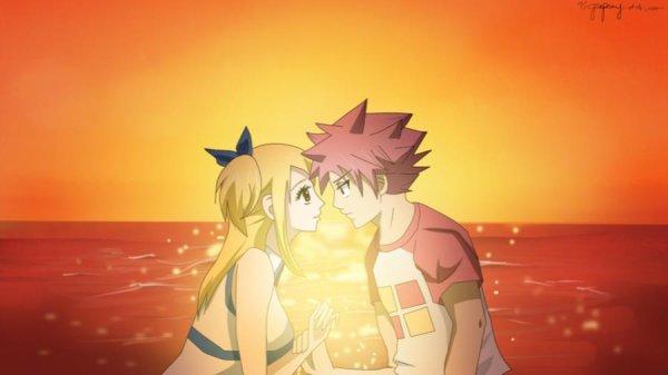 Lucy et Natsu (l)