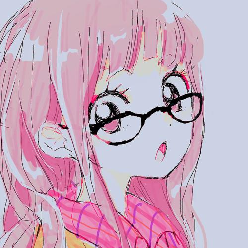 filles avek des lunettes ♥