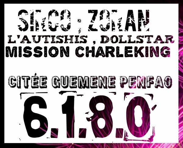 Sirco Feat L'autishis , Zoran , Dollstar - Le ter-ter ( Mission Charleking ) Taro Prods (2012)
