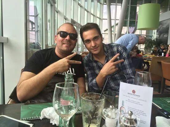 Roberto fete fête ses 20ans Via Christopher Calice