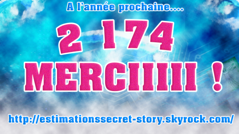 REMERCIEMENT AUX PERSONNES QUI NOUS ONT SUIVIS DURANT LA SAISON 8 DE SECRET STORY #SS8
