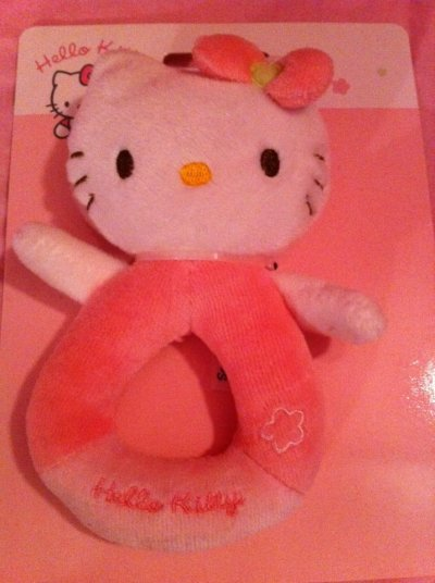 Hochet Hello kitty