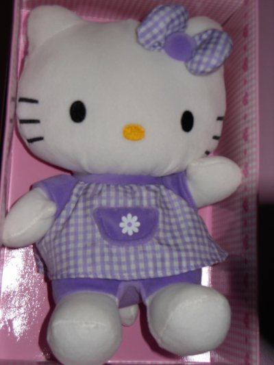 peluches Hello kitty , cadeau de noel