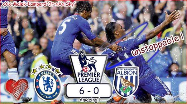 """1er Journée De PL :  Chelsea Fc  6-0  West Bromwich Albion  """" Et Hop La Saison 2009/2010 Qui Continue :D """""""