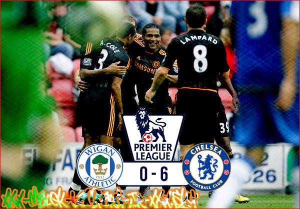 """2eme Journée De PL :  Wigan AFC 0-6 Chelsea FC  """"Chelsea A LA 6eme Vitesse !"""""""