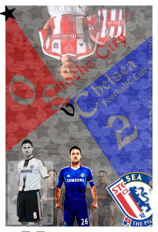 """3éme Journée De PL :  Chelsea Fc  2-0  Stoke City  """" Keep Winning ! :)"""""""