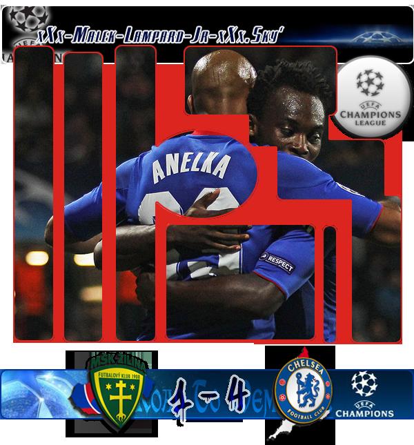 """Phase De Groupe / 1ére Journée De CL :   MSK Zilina   1-4   Chelsea Fc     """" Chelsea début Son long chemin de retour à Londres dans le style"""""""