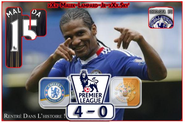 """5éme Journée De PL :  Chelsea Fc  4-0  Blackpool  """"ChelseaTrés 4 POur The Blackpulled !"""""""