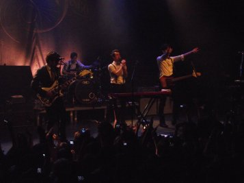 Concert de Panic! at the Disco - 12 mai 2011 Avec Audrey