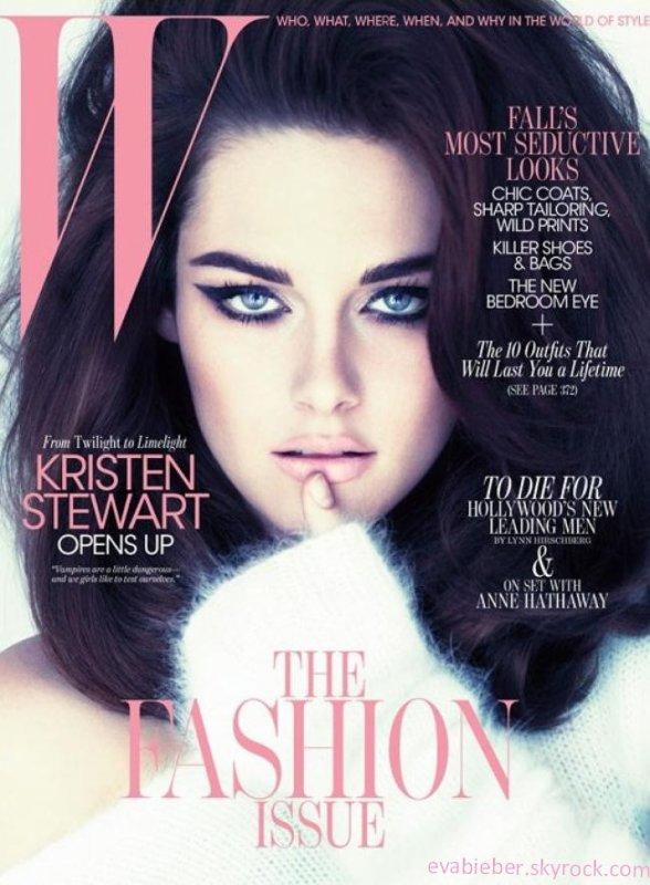 Kristen Stewart : En couverture de W magazine Septembre 2011