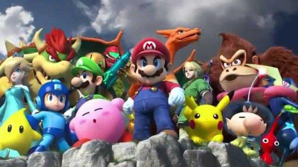 Super Smash Bros for Wii U est enfin sorti !