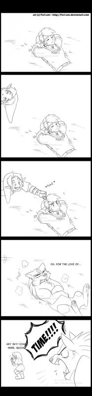 Mon pauvre Link TP...