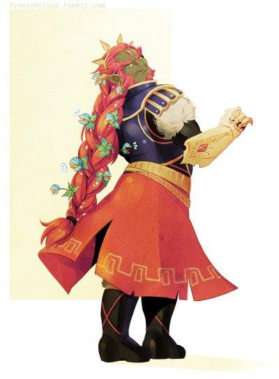 Ganondorf, qu'as-tu fait à te cheveux ?