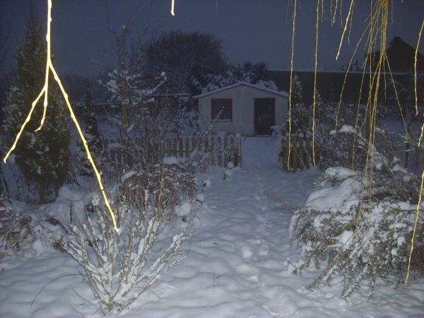 pigeonnier sous la neige